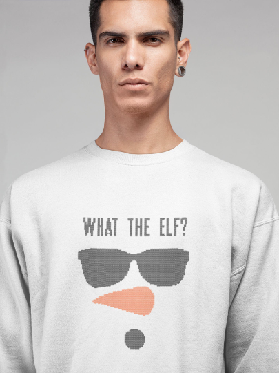 what-the-elf-sweater